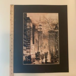 Other - New York City 20inch by 16inch Picture Frame